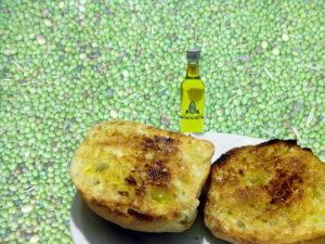 Ulivi e olio in Sardegna pane e olio extravergine